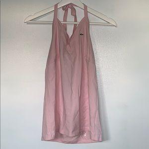 Lacoste Pink Halter Top